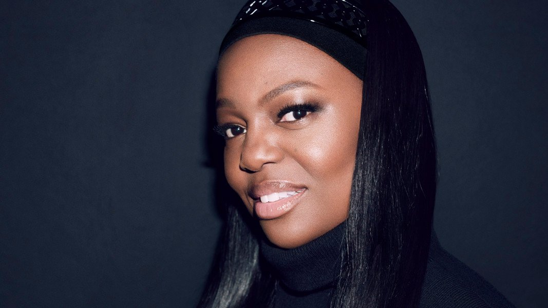 A portrait of makeup artist and entrepreneur Pat McGrath.