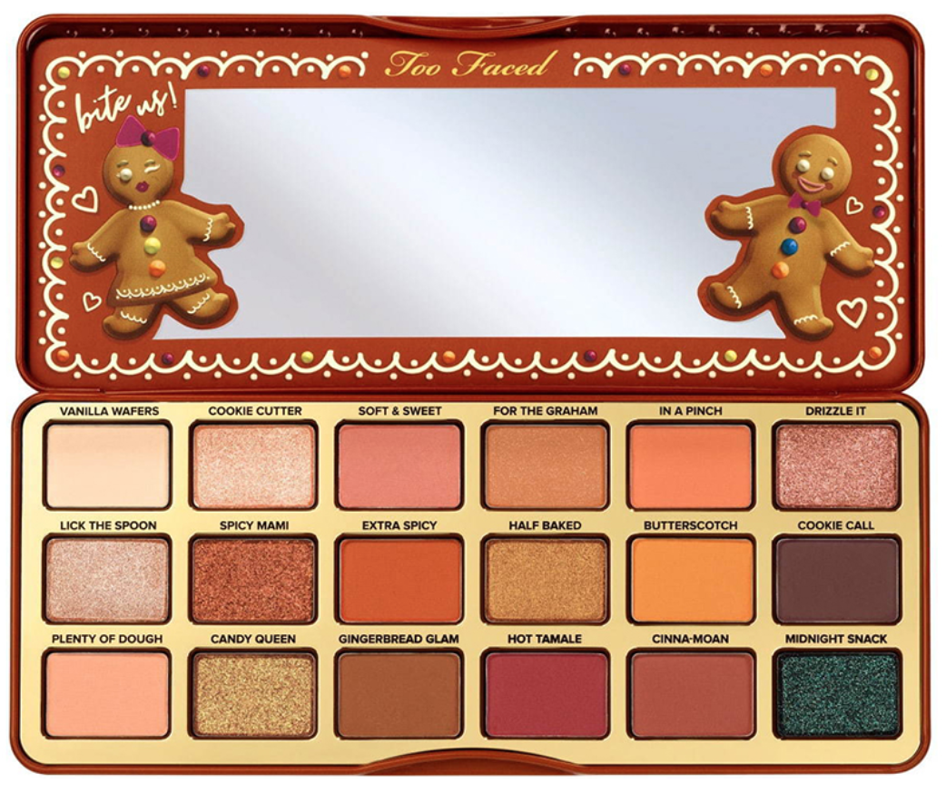 Too Faced's Gingerbread Extra Spicy Eyeshadow Palette.