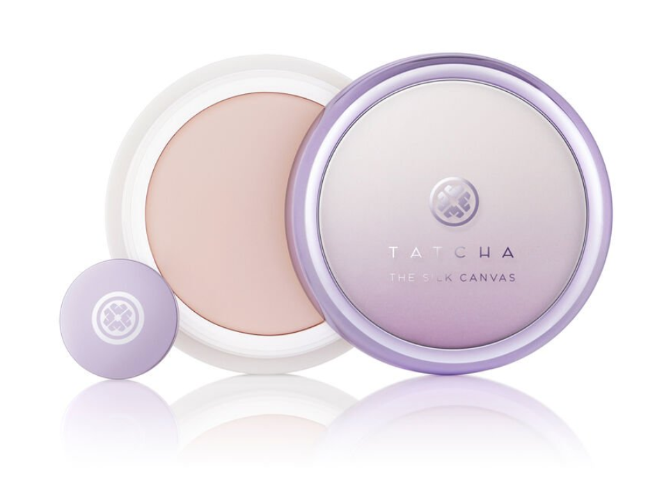 An advertisement for Tatcha's The Silk Canvas.