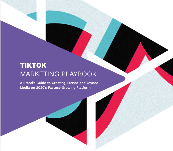 The cover of Tribe Dynamics' TikTok Marketing Playbook report.